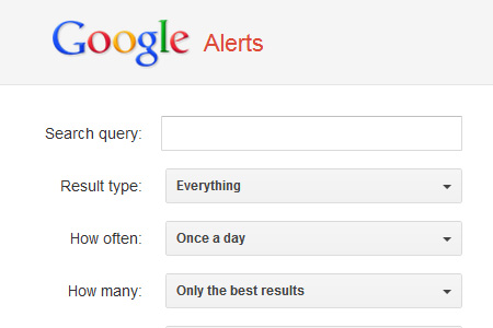 Google Alerts - Monitor the Web for Interesting Content