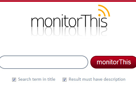 MonitorThis: Browse 26 search engines