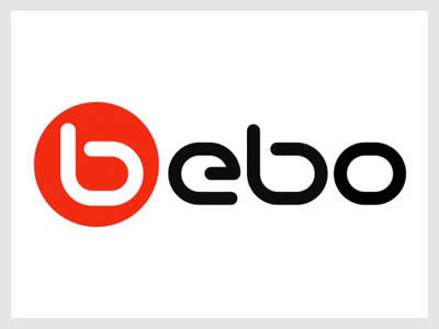 The font used in Bebo is Neuropol