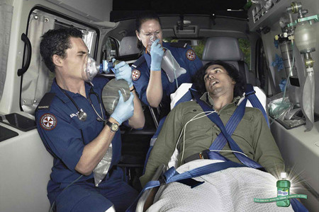 Listermint Mouthwash: Ambulance