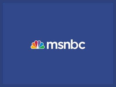 The font used in MSNBC is Gotham Medium