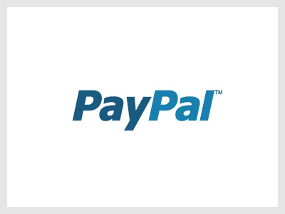 The font used in Paypal is Verdana Bold Italic