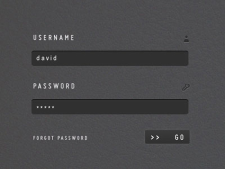 A Clean & Stylish Login Form