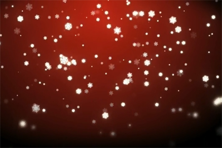 Free Christmas Snow After Effects Project