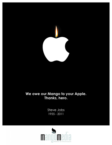 We owe our Mango to your Apple