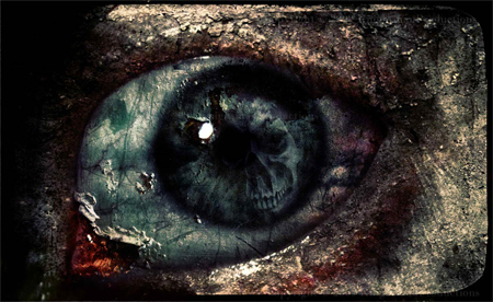 20 Truly Scary Photo Manipulation of Horror Eyes
