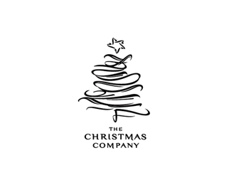 25 Beautiful Christmas Logo Design for Inspirations