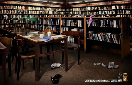 Nescafé: The library