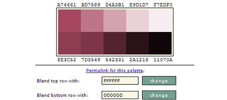 Color Palette Creator