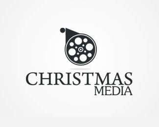 Christmas Media Logo Design