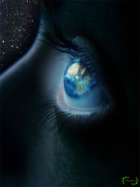 The Eye Photo Manipulation