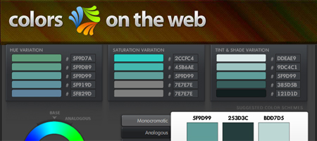 Color Wizard - Colors on the Web