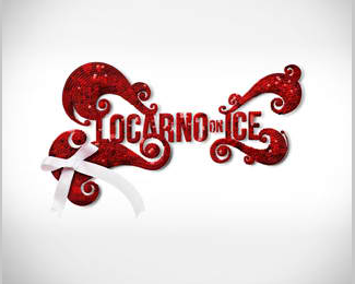 Locarno on Ice – Red Logo Design