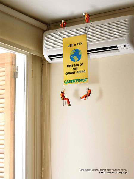 Greenpeace Greece: Air conditioner