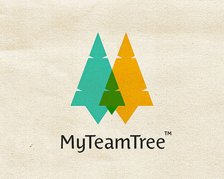 My Team Tree Logo Design