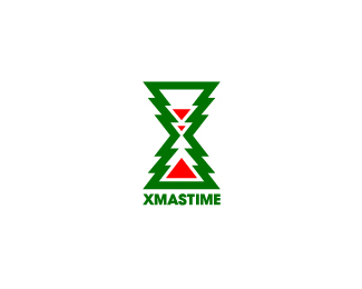 Christmas Logo Design: Xmas Time