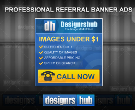 Free Professional Banner Ads Template in PSD