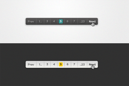Pagination [PSD]