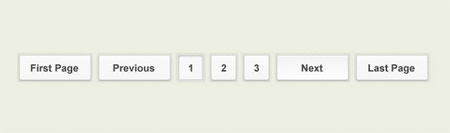 Pagination PSD