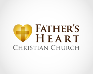 Father's Heart Logo Design