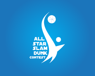All Star Slam Dunk Contest Logo Design