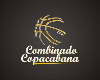 Basketball Logo Designs: Combinado Copacabana