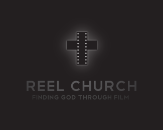 Reel Church Logo Design