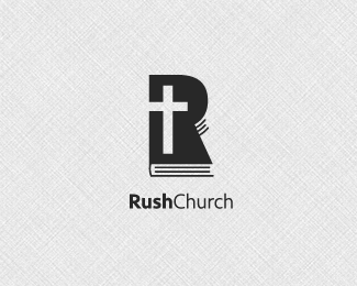 Rush Church Logo Design