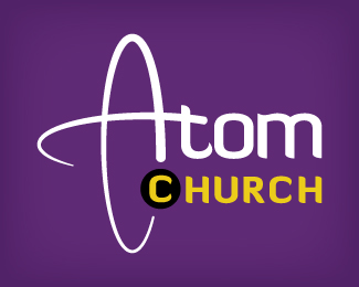 Atom Church Logo Designs