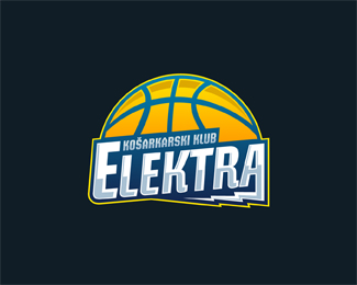 Basketball Logo Design: KK Elektra