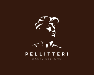 Pellitteri Waste Systems Logo Design