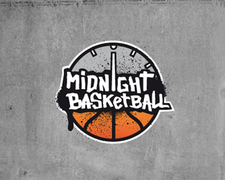 Midnight Basketball Logo Design
