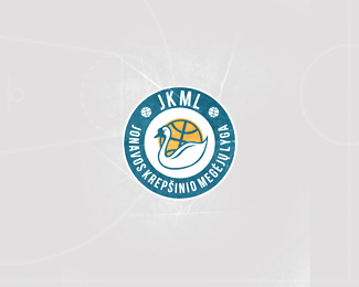 JMKL - Local Basketball League Logo Design