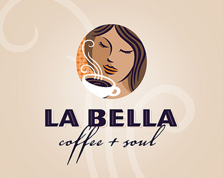 Coffee Logo Design: La Bella
