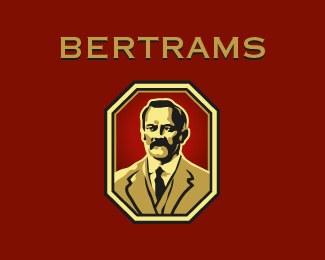 Bertrams Logo Design