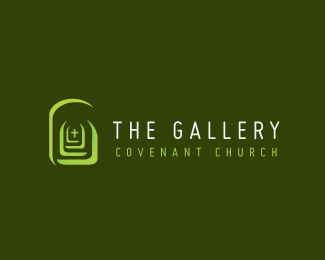 The Gallery Covenant Church Logo Design