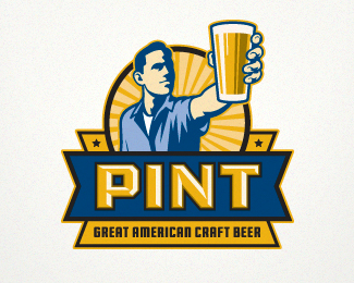 Pint 2 Logo Design