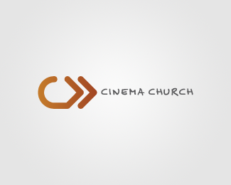 Cinema Church Logo Design