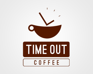 Logo Design Idea logo design Timeout Coffee Logo Design