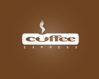 Hot Coffee Logo Designs: Coffee Express