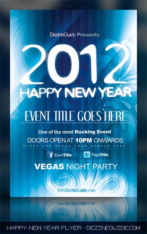 Flyer Designs: Free Party Flyer Templates With Psd (Set #4)