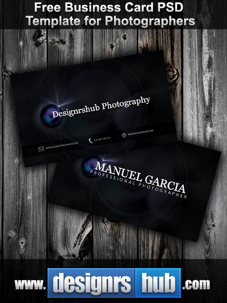 Free Photography Business Card
