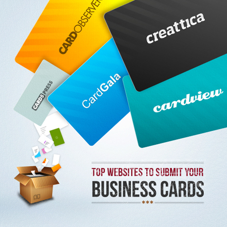 Top Websites to Submit your Business Card Designs