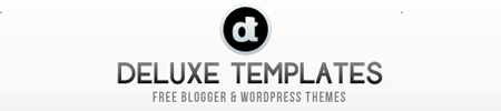 Deluxe Templates - Free Blogger Templates