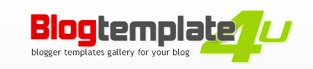 Blogtemplate4u - Blogger templates gallery for your blog