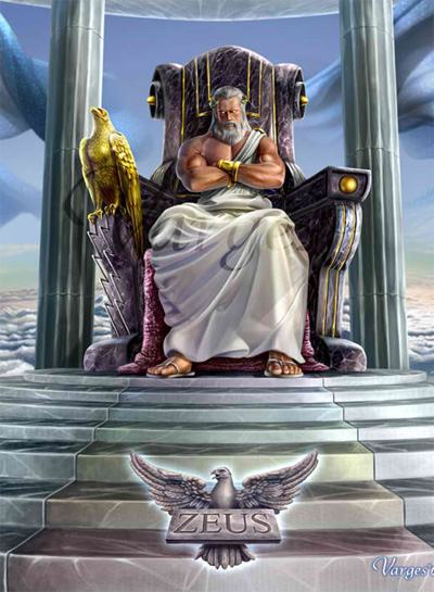 Zeus Illustration