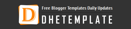 DheTemplate – Free blogger templates daily updates
