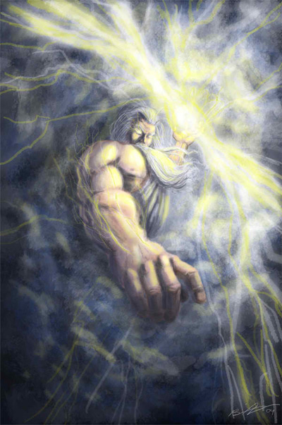 Top 10 Illustrations Of Zeus