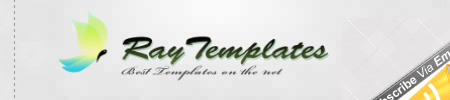 RayTemplates – Collection of Free Blogger Templates