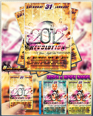 Free Premium Looking 2012 Revolution Flyer